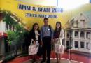 อาจารย์สาขาวิชาคณิตศาสตร์เข้าร่วมงาน Annual Pure & Applied Mathematics Conference 2016